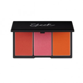 Sleek makeup Blush by 3 palette puna (värv - pumpkin) 20g