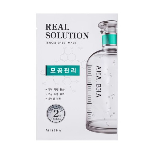 Missha Real solution tencel sheet mask (vitalizing) 25g