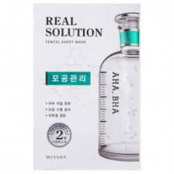 Missha Real solution tencel sheet mask (vitalizing) 25gPore Control