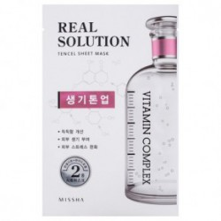 Missha Real solution tencel sheet mask (vitalizing) 25gBrightening