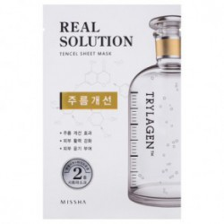 Missha Real solution tencel sheet mask (vitalizing) 25gWrinkle Caring