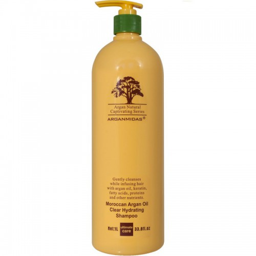 Arganmidas Moroccan argan oil clear hydrating shampoo šampoon 450ml