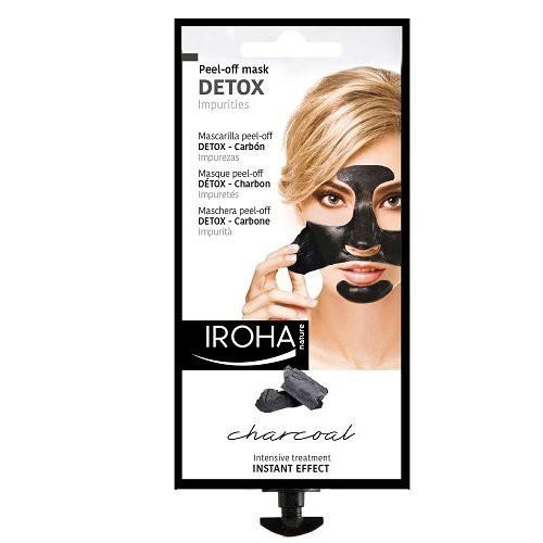 IROHA Black Peel Off Detox Mahakooritav näomaks söega