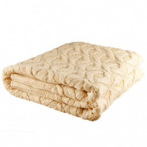 Nord Snow Honeycomb Style Merino Wool Blanket