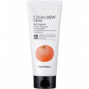 TONYMOLY Clean Dew Red Grapefruit Foam Cleanser 180ml