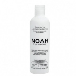 Noah Fortifying Shampoo With Black Pepper And Peppermint 250ml
