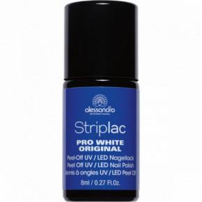 Alessandro Striplac Pro White Original UV/LED Nail Polish 8ml