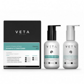 Veta Hair Stimulating Shampoo & Conditioner Travel Kit 2x100ml