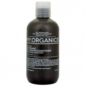 My.Organics Keratin Pro-Keratin Hair Conditioner with argan and avocado 250ml