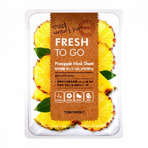 TONYMOLY Fresh To Go Pineapple Sheet Mask Brightening 22g