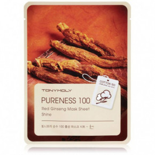 TONYMOLY Pureness 100 Red Ginseng Sheet Mask 21ml