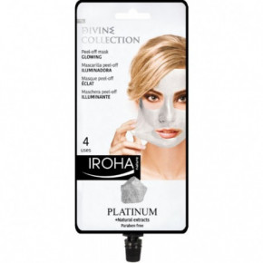 IROHA Divine Collection Glowing Peel-Off Mask With Platinum