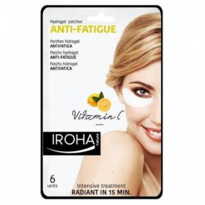 IROHA Anti-Fatigue Hydrogel Eye Pads With Vitamin C 6 pcs