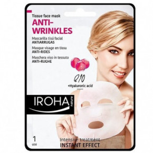 IROHA Anti-Wrinkles Q10 + Hyaluronic Acid Sheet Mask 23ml