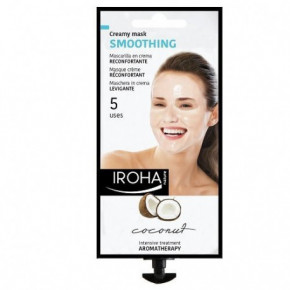 IROHA Smoothing Cream Face Mask With Coconut 25ml
