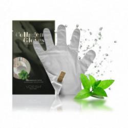 VOESH PHYTO Collagen Gloves Peppermint 1 pair
