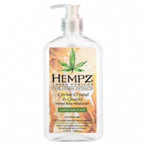 Hempz Citrine Crystal & Quartz Herbal Body Moisturizer 500ml