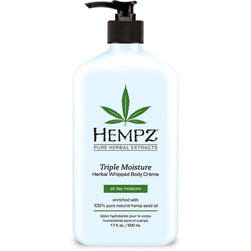 Hempz Triple Moisture Herbal Whipped Body Creme 500ml