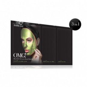 OMG Platinum Green Facial Mask Kit 18g+10g