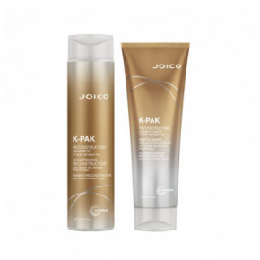 Joico Kit: K-Pak shampoo and conditioner (300+250ml)