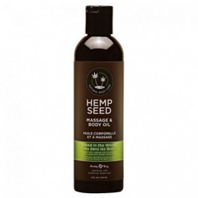 Marrakesh Hemp Seed Naked in the Woods Massage & Body Oil 237ml