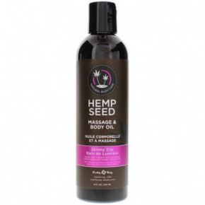 Marrakesh Hemp Seed Skinny Dip Massage & Body Oil 237ml
