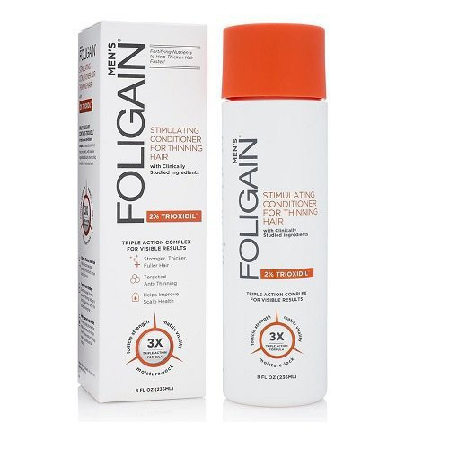 Foligain Stimulating Hair Conditioner for Thinning Hair for Men with 2% Trioxidil 236ml