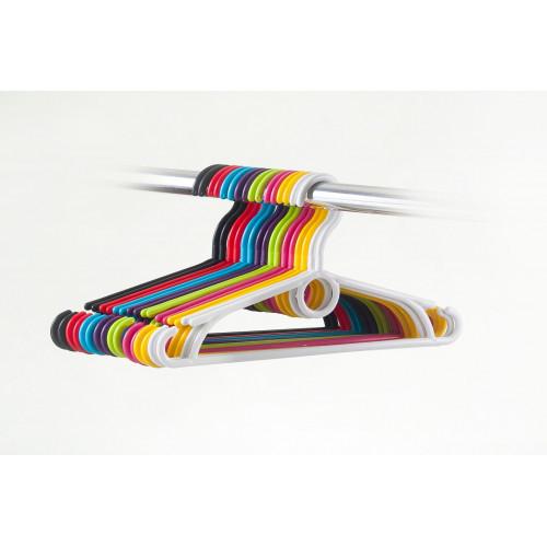 HomelyWorld WZM Colorful Plastic Hangers For Kids 10pcs