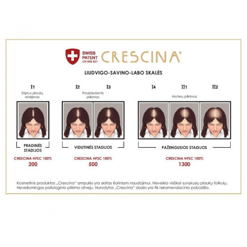 Crescina Transdermic Technology Complete Treatment 500 Woman 20amp. (10+10)