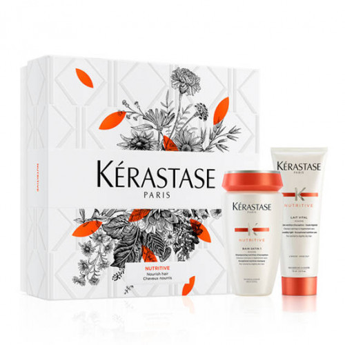 Kerastase Nutritive Spring Gift Set Hydrating Shampoo and Conditioner 250ml+200ml