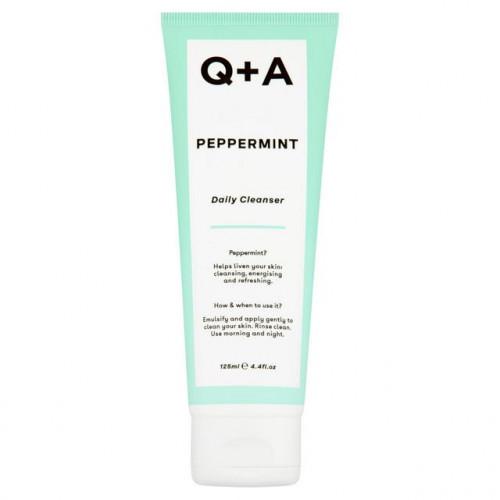 Q+A Peppermint Daily Cleanser 125ml